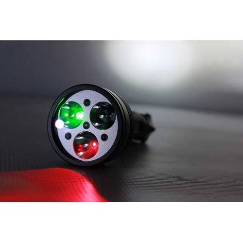 PowerTac PowerTac Chameleon LED Flashlight With Multiple