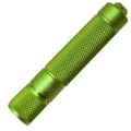 PowerTac E3 LED Keychain Flashlight, Green with CREE XP-E LED 90 Lumens-Uses 1 x AAA