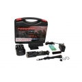 PowerTac Flashlight Warrior Rechargeable Kit, 650 Lumens CREE XM-L LED